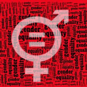 Gender equality wordcloud, mypokcik / Shutterstock.com