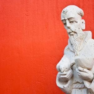 St. Francis statue, PerseoMedusa / Shutterstock.com