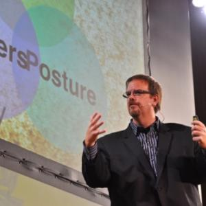 Ed Stetzer at the Q Conference. Photo by Cathleen Falsani/Sojourners.