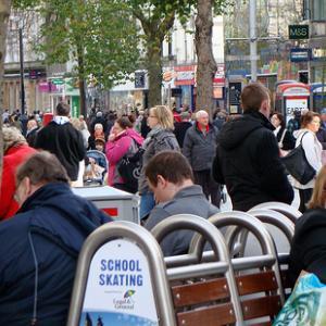 People on the Street. Photo by Jon Candy/Wylio. (http://www.wylio.com/credits/Fl