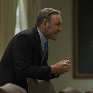 "Kevin Spacey in Season 3 of Netflix's ""House of Cards."" Photo by David Giesbrech"