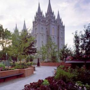 The Salt Lake Temple in Salt Lake City, Utah. Image via RNS.