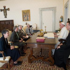 Photo via CNS photo / L'Osservatore Romano / RNS