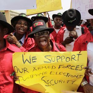 Photo courtesy REUTERS / Afolabi Sotunde / RNS