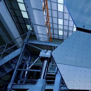 Mirrors on the James Webb Space Telescope / NASA/MSFC/David Higginbotham/Emmett Given