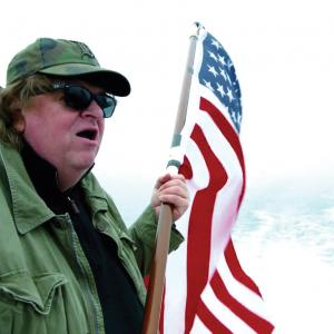 Director Michael Moore in Where to Invade Next