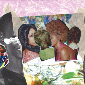 Collage including images of Black people and nature