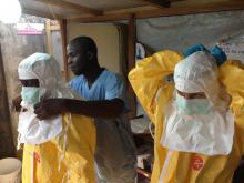 Ebola precautions taken in Guinea, © EC/ECHO / Flickr.com