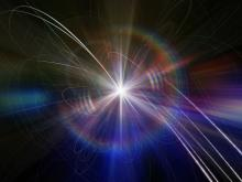 Artist concept of elusive Higgs-Boson. Image by Crady von Pawlak/Getty Images.