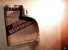 """In memoriam Charlie Hebdo."" Image courtesy Emeline Broussard/Flickr."