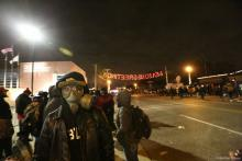 Ferguson protests Monday night. Photo by Heather Wilson / PICO