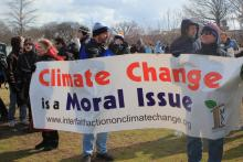 People of Faith Join the Forward on Climate Rally, Feb. 17. Sojourners Photo