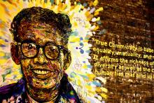 Mural of Pauli Murray. Image courtesy abbyladybug/flickr.com
