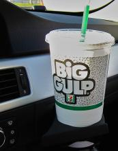 Big Gulp. Photo by section215/Wylio.