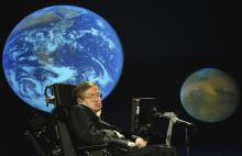 Stephen Hawking, by NASA HQ / Flickr.com