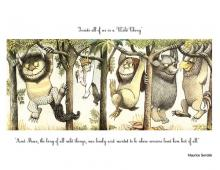 Sendak/Wild Things image via By .Va i ♥ ven. Arp/Wylio.
