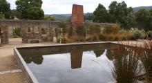 Port Arthur memorial garden