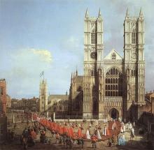 Westminster Abbey 1749. Via Wiki Commons http://bit.ly/tdg9GR