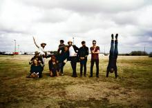Edward Sharpe & The Magnetic Zeros. Image via the band's website.