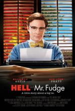 "Promotional poster for ""Hell and Mr. Fudge."""
