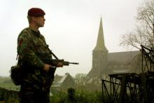 Sectarianism in Northern Ireland. Photo via Getty Images.