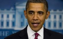 President Barack Obama, JIM WATSON/AFP/Getty Images