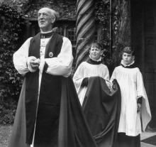 Archbishop of Canterbury, 1948 by William Sumits/Time Life Pictures/Getty Images