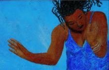 """God Dancing."" Pastel drawing by Lisa Daughtry-Weiss for Sojourners."