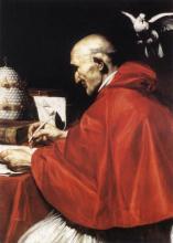 Pope Gregory the Great, Carlo Saraceni [Public domain], via Wikimedia Commons