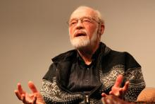 Eugene Peterson. Photo by Cathleen Falsani/Sojourners.