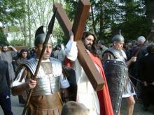 Religious procession on good Friday in Stuttgart-Bad Cannstatt, Germany. Via Wik