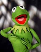 Kermit the Frog. Image via Wiki Commons # bit.ly/u6wWMc