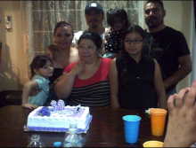 Noemi Romero's Family. Photo from Define American