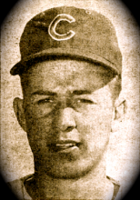 Ron Santo. From a 1961 edition of Baseball Digest via http://bit.ly/vQUTgS