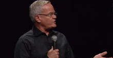 Screenshot of Bill Hybels. Video courtesy The Tungsten Collective/Vimeo.