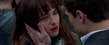 Screenshot from 'Fifty Shades of Grey' trailer.