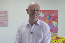 CEO World Vision Australia Rev. Tim Costello.
