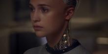 Screenshot from 'Ex Machina' trailer.