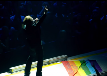 "Screenshot of U2 / 4K / ""Pride (In the Name of Love)"" (Live) / United Center, Chicago / June 28th, 2015"