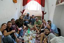 A shared meal in Hebron.