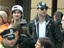 The two bombing suspects, identified as brothers. Photo via FBI.gov