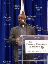 Ghana's Cardinal Peter Turkson. Photo by Dawn Araujo / Sojourners