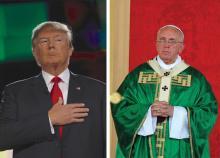 Donald Trump / Pope Francis