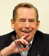 Václav Havel  Prague 2009. Via Via http://bit.ly/tTEMqp