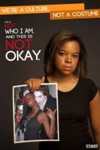 Photo campaign from Ohio University's Students Teaching Against Racism (STARS)
