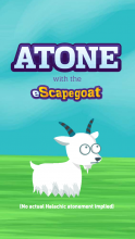 The eScapegoat, an online creation of a San-Francisco non-profit to help people