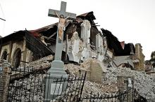 Port-au-Prince church post-earthquake. Photo by Colin Crowley via Wylio http://w