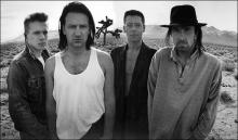 U2 album photo from The Joshua Tree by Anton Corbijn