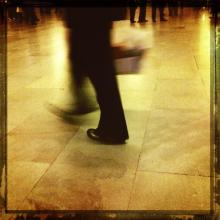 """""""Leaving."""" Photo by Cathleen Falsani for Sojourners."""