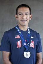 U.S. Olympic runner Leo Manzano. Photo via LeoManzano.com.